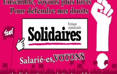 Elections TPE 2016 : Les candidats Solidaires